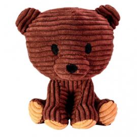 Lumo Stars knuffel Bear Teddy junior 15 cm corduroy bruin