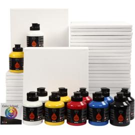Art School, primaire kleuren, klassenset, 1set (GrV)