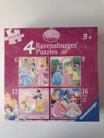 Puzzel Disney Prinsessen 3+