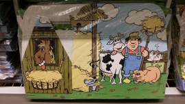Kinderbox / menubox  Boerderij (5 stuks)