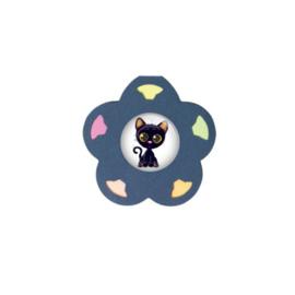 memoboekje Daisy (blauw) 24 stuks (Met stickertje)