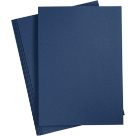 Karton, A4, 210x297 mm, 220 gr, Blauw