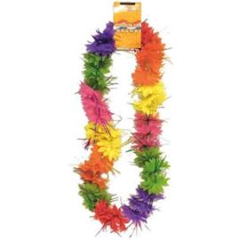 Hawaii Krans Kleurenmix met Glitters