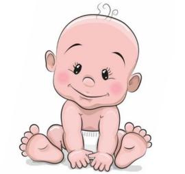 TAARTPRINT: BABY JONGETJE