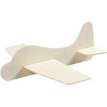 Vliegtuig (6 stuks) + kleine potjes verf