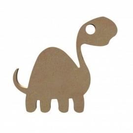 Dinosaurus Lang nek cartoon 15 cm