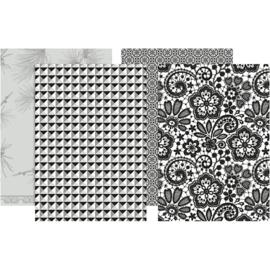 Decoupagepapier, vel 25x35 cm, 17 gr, 80div vellen