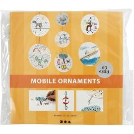 Mobiel d: 12+15+18 cm, 300 gr, 20 sets (GrV) (Teach Me)