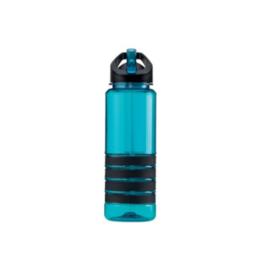 Silly Bottle 750 ml drinkfles (aqua/zwart)