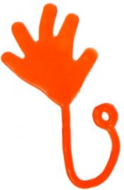 Kleefhandje - Plakhandje - Sticky Hand (rood)