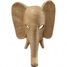 Olifant, h: 34 cm, b: 24 cm