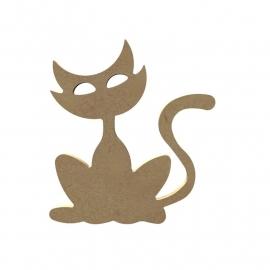 kat (Grote ogen) 15 cm
