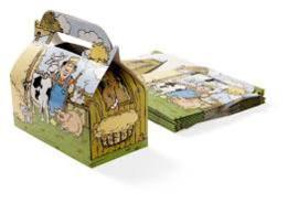 Kidsbox/ menubox  Boerderij