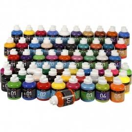 A-Color acrylverf, 57x500 ml (GrV)