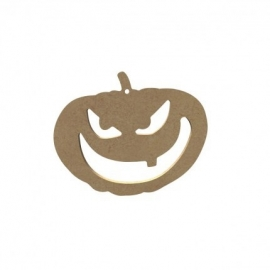 Halloween Pompoen 15 cm