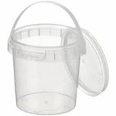 Verzegelbare TE-cup/pot 155ml met deksel + hengsel (10 stuks)