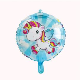 Eenhoorn Folieballon - 45cm