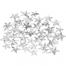 Strasstenen 11+12+16 mm zilver sterren