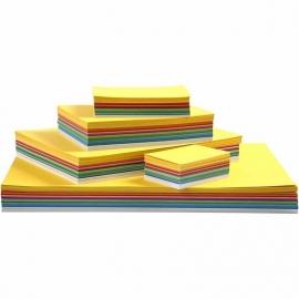 Lente karton, A2+A3+A4+A5+A6 , kleuren assorti, 1800assorti vel (GrV)