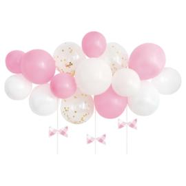 Ballonnenboogkit Roze