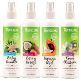 - TropiClean Baby Powder Deodorant Spray -