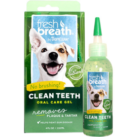 - TropiClean  Fresh Breath Clean Teeth -