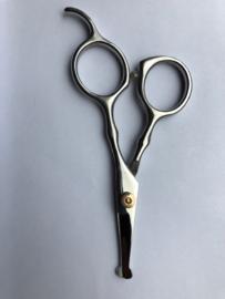 - Ergonomische Schaar 11 cm. met stelschroef -