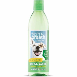 - Tropiclean Fresh Breath Oral Care Water Additive -