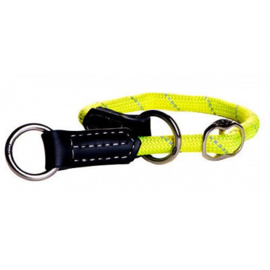 ROGZ ROPE OBEDIENCE YELLOW LARGE - 40-45 CM / 12 MM.
