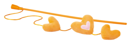 Rogz Catnip Hearts Magic Stick Orange