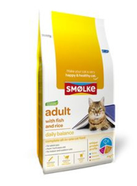 Smolke Kat Adult Fish & Rice 4 kg