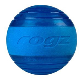 Rogz Squeekz Blue Medium 6.4 cm
