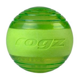Rogz Squeekz Lime Medium 6.4 cm