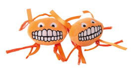 Catnip Flossy Grinz Orange (2 stuks)