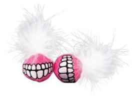 Rogz Catnip Grinz Ball Pink