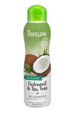 TropiClean Oatmeal & Tea Tree Shampoo 355 ml
