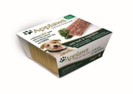 Applaws Dog Pate Beef with vegetables 7 x 150 gr