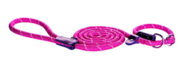 ROGZ ROPE LIJN JACHT PINK MEDIUM - 180 CM / 9 MM.