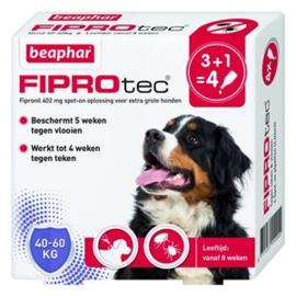 Beaphar FiproTec Dog 40-60kg 3+1