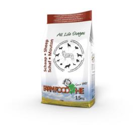 Farm Food HE Schaap 15  kg  Nu: inclusief Farm Food Fresh Menu pens en hart 125 gr