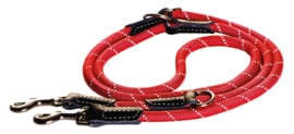 ROGZ ROPE LIJN MULTI RED LARGE - 200 CM / 12 MM.