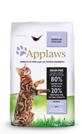 Applaws Chicken & Duck Adult Brokjes - 7,5 kg.