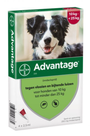 Advantage Hond 250 4 Pipet