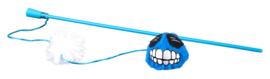 Rogz Catnip Fluffy Magic Stick Blue