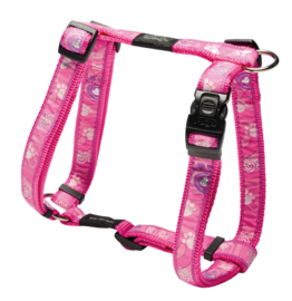 ROGZ BEACH BUM TUIGJE PINK PAW L - 20MM