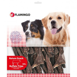 Hondensnack Nature Runderpens 200 gr Flamingo