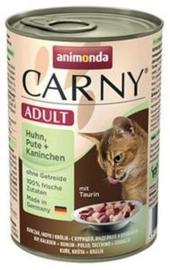 Carny Kip/Kalkoen/Konijn 6 x 400 gr