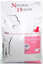 Natural health Dog Lamb & Rice Puppy 7,5 kg