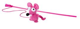 Rogz Catnip Mouse Magic Stick Pink