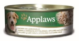 Applaws Dog Can Chicken & Lamb Jelly 12 x 156 gr